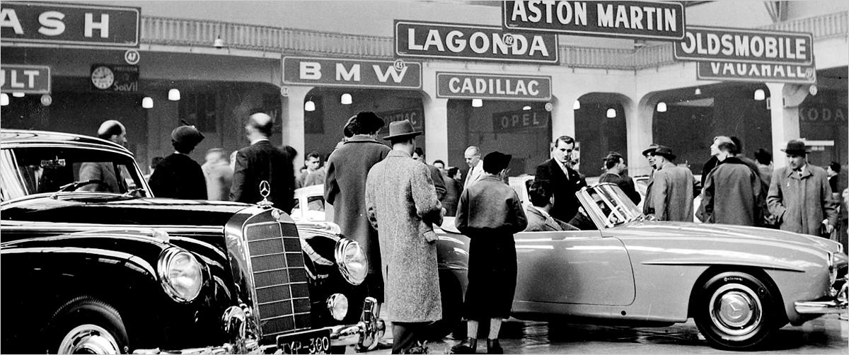A Brief History Salon International De l'auto