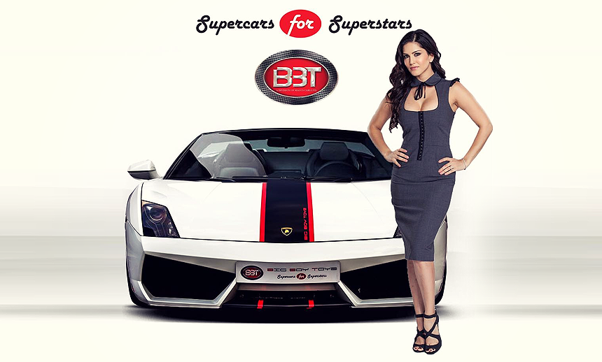 Sunny Leone and her enticing car collection