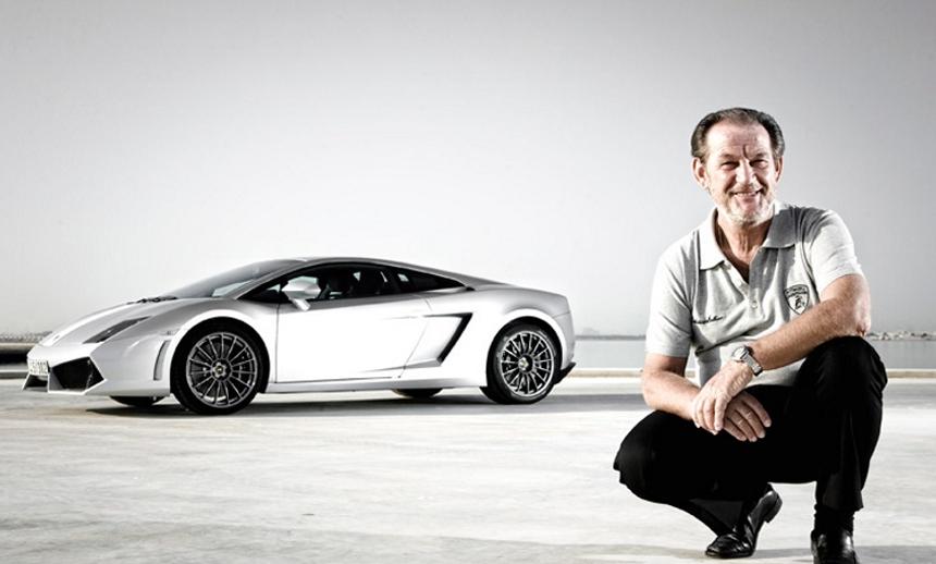 the chief test driver of Lamborghini
