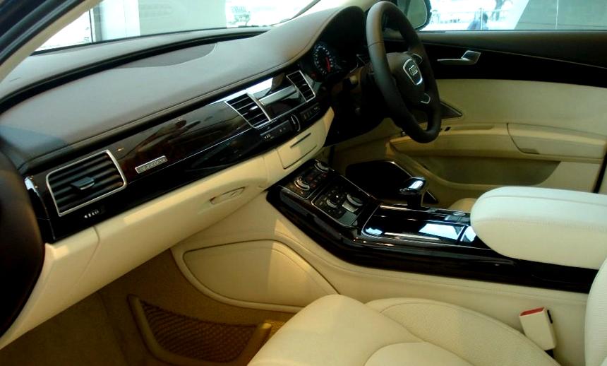 The business class interiors Audi A8L