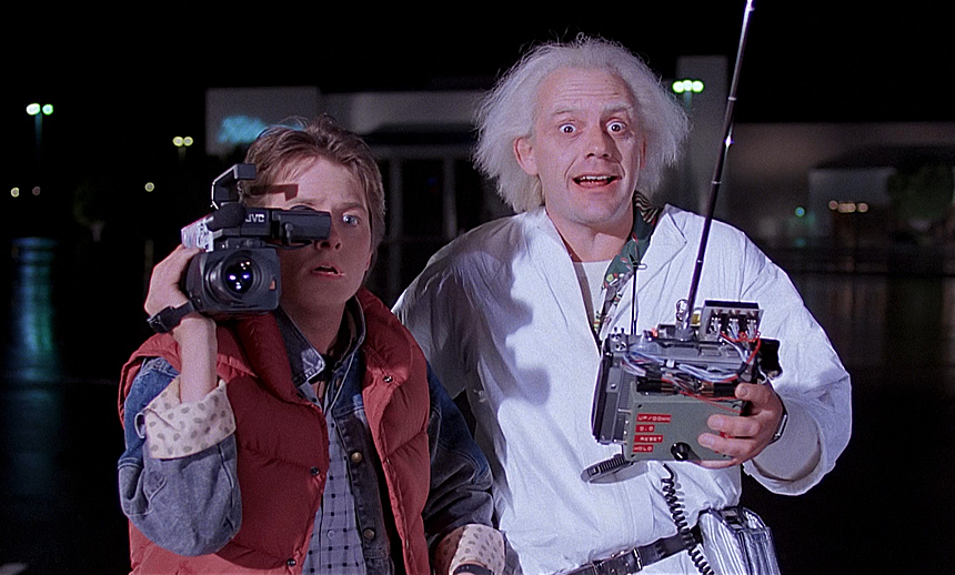 """Back to the Future"""" movie"""
