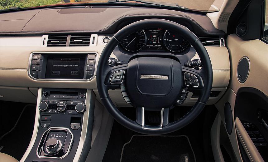 The car interiors