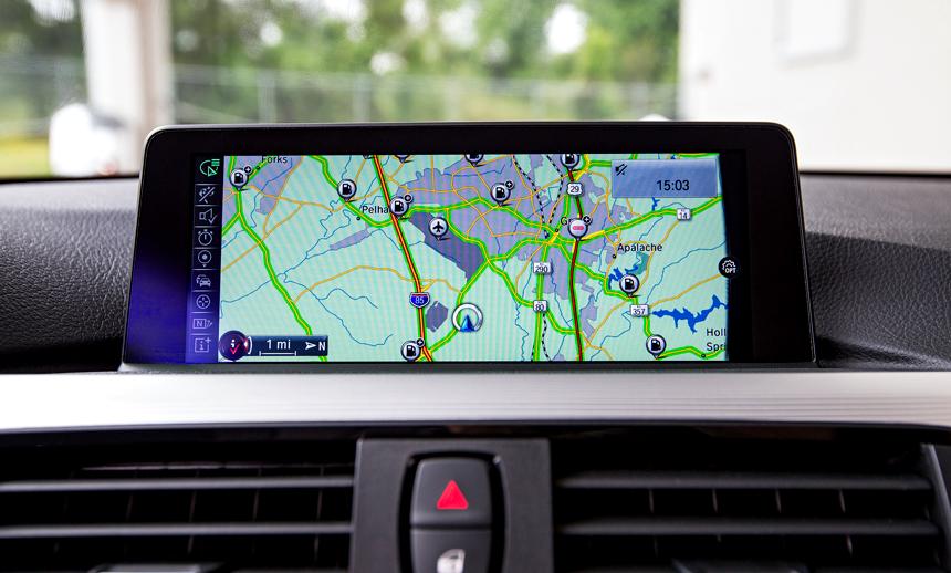 BMW GPS system