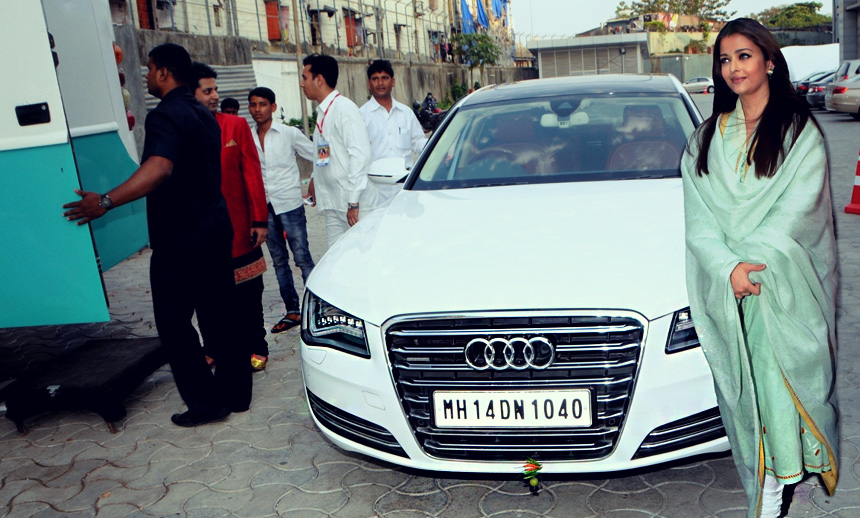 Aishwarya Rai Bachchan's enchanting flagship ride statement