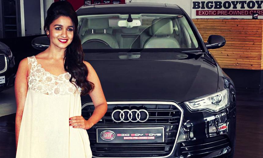 Glamorous Doll Alia Bhatt's Audi Collectiont