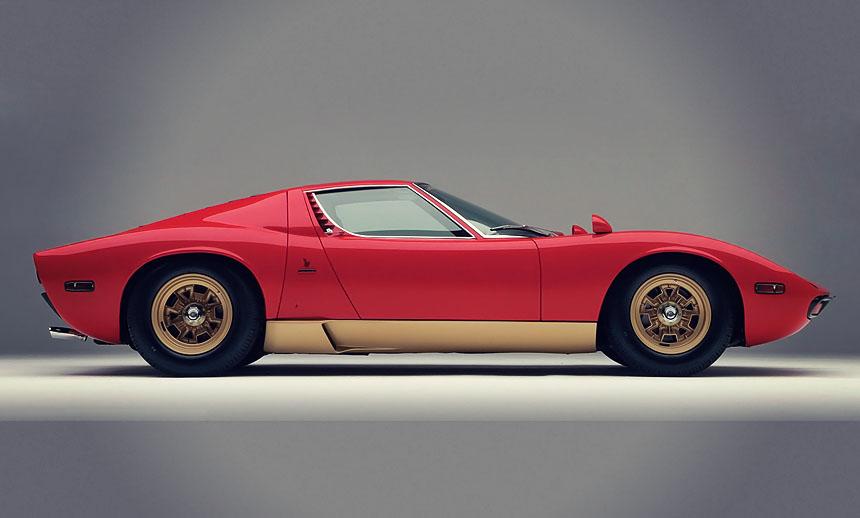 The Lamborghini Miura