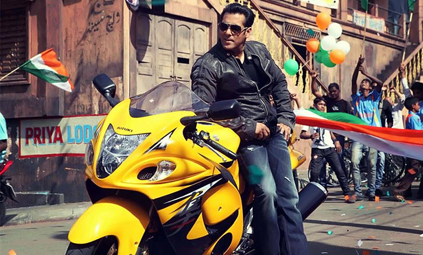 Salman Khan's Suzuki Hayabusa