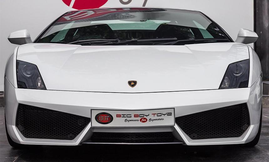 Lamborghini Gallardo Bicolore LP560-4 Price After GST