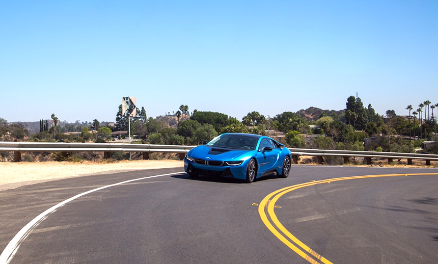 Driving the BMW i8