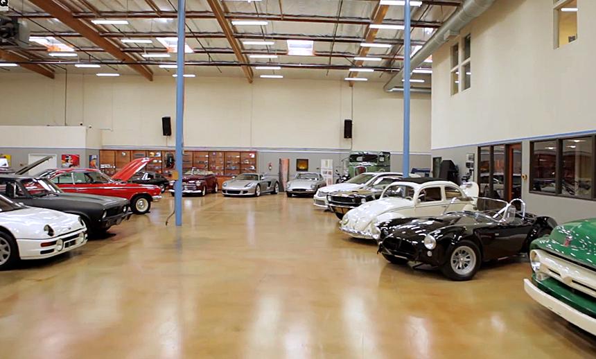 Tim Allen Celebrities Garages