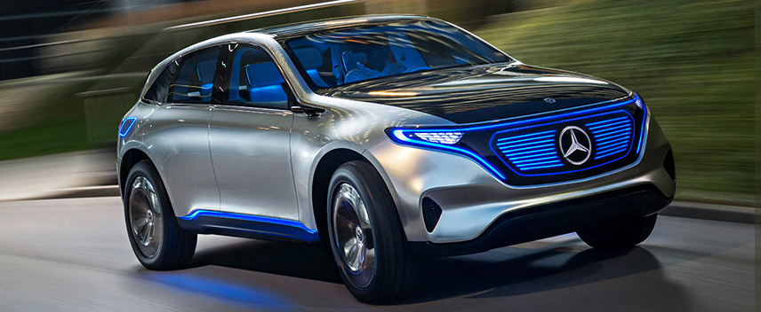 Mercedes-Benz Unveil Electric Vehicles