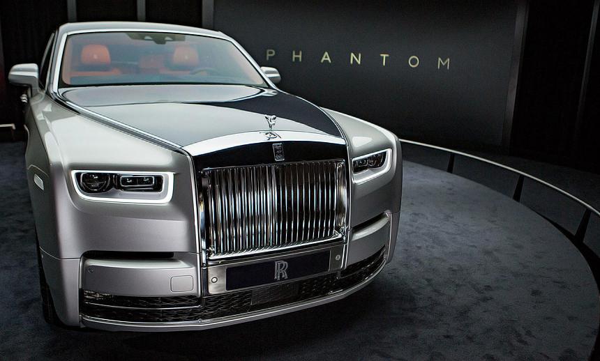 The 2018 Rolls Royce Phantom