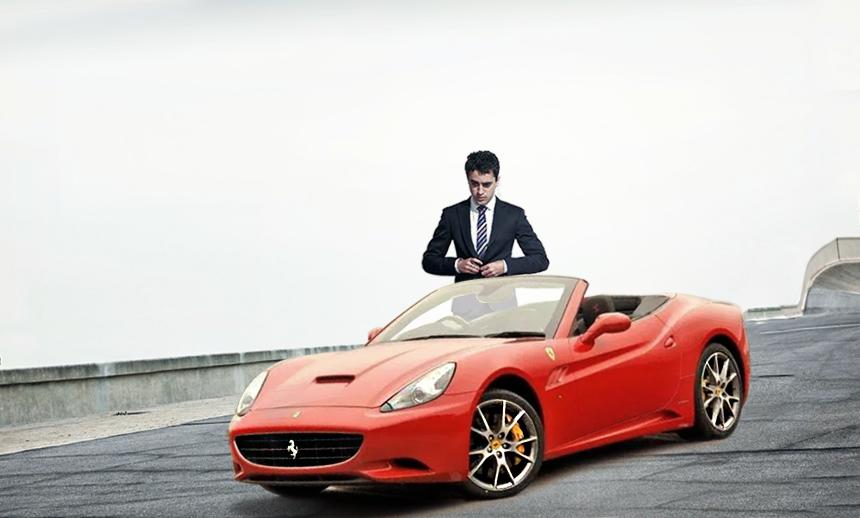 Imran Khan's Dream Machine:The ever gorgeous Ferrari California