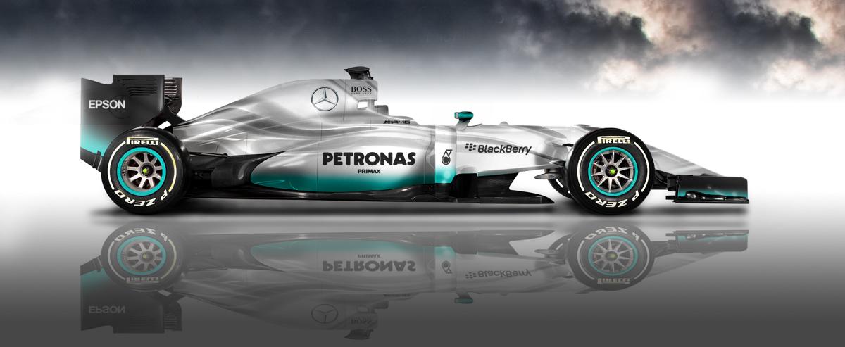 The F1 W07 Hybrid: Mercedes Unveils its 'Amazing 2016 Formula 1 Car