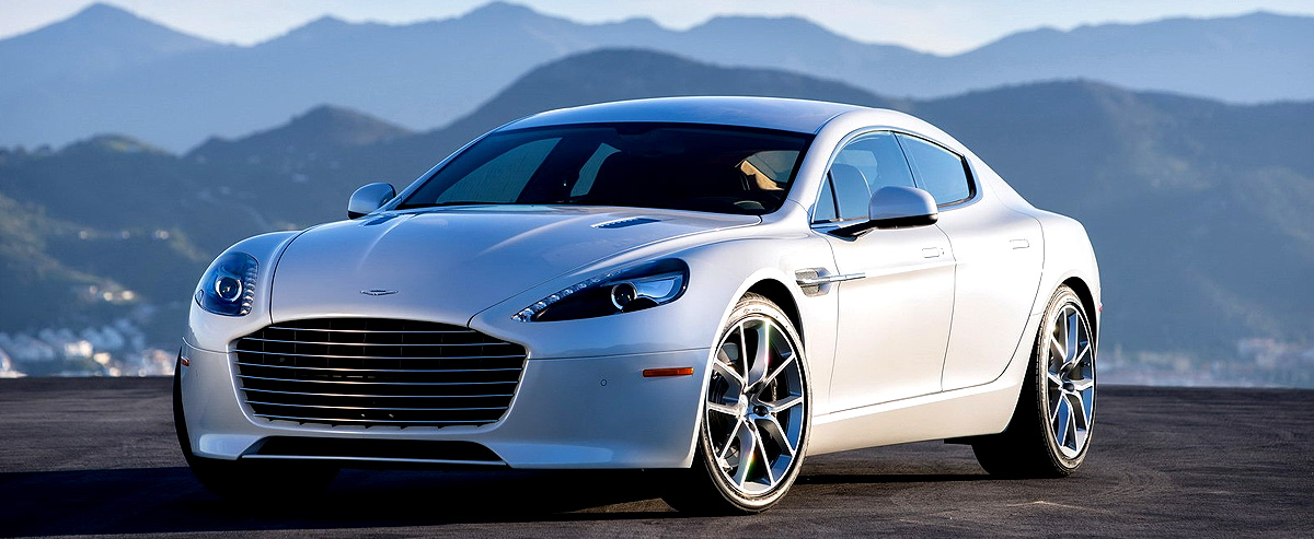 Aston Martin Launches 2016 Rapide in India at Rs. 3.29 Crore