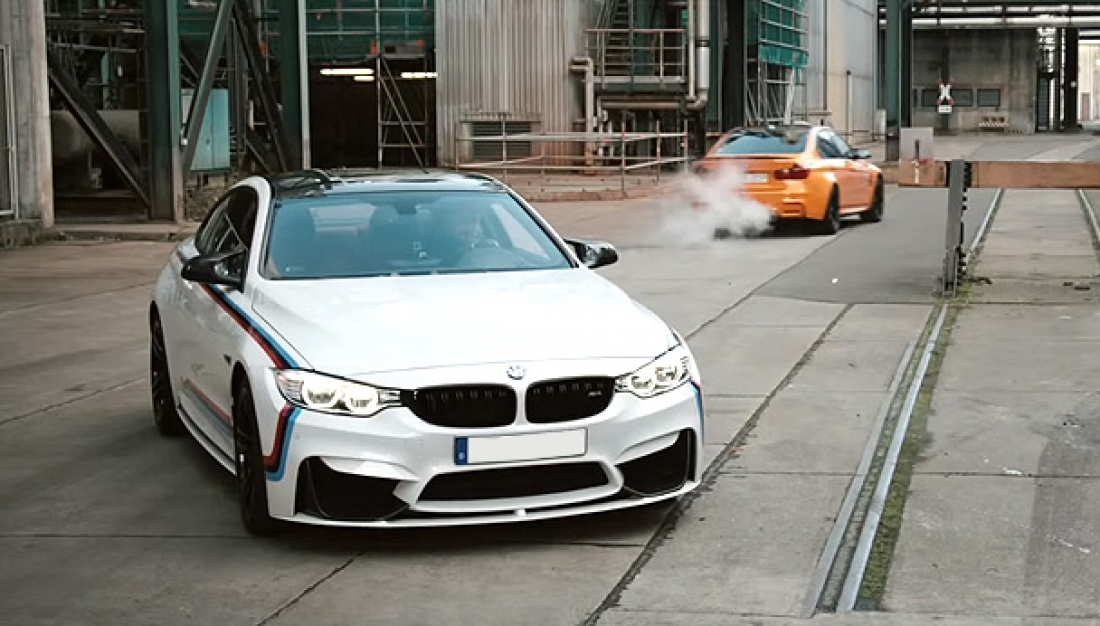The beautiful BMW M4. BMW M Performance: fully loaded.