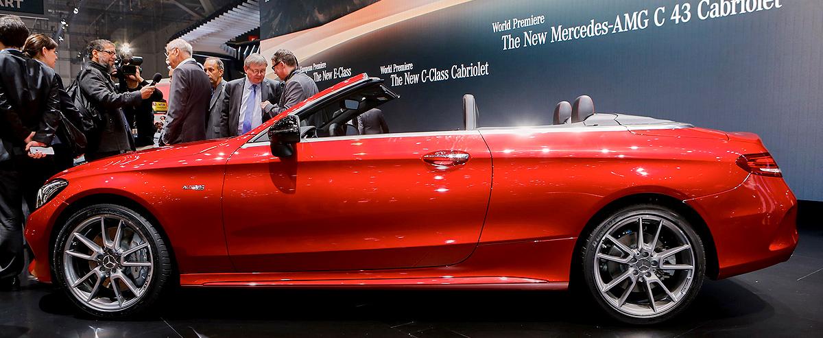 Mercedes-Benz AMG C43 Cabriolet Debuted at 2016 Geneva Motor Show