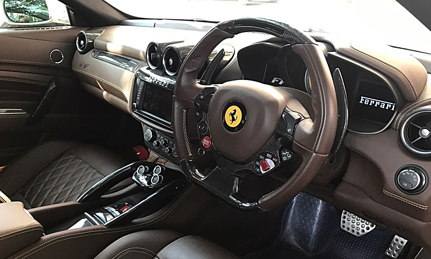 A Star Treky experience with the Ferarri FF