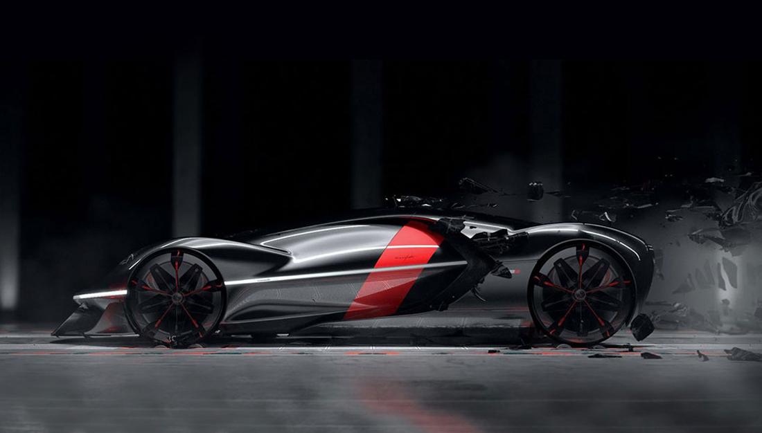 Ferrari 2040 Manifesto Concept – More than What a Human Can Imagine
