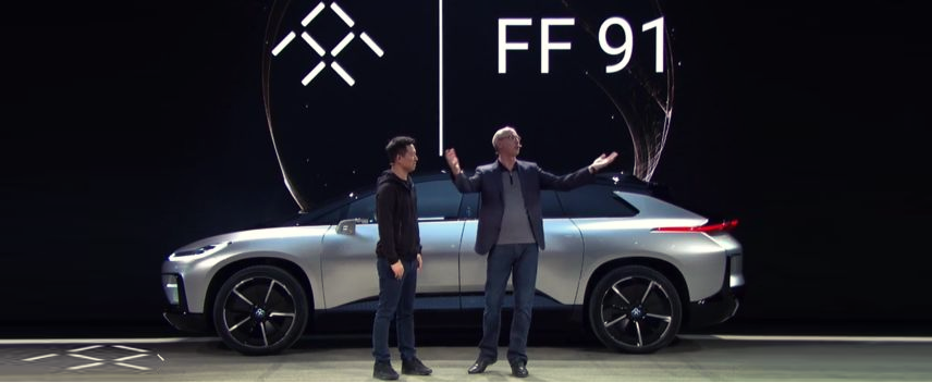 The Tesla Killer has Finally Arrived;Faraday Future Unveils Superfast Electric Car FF91
