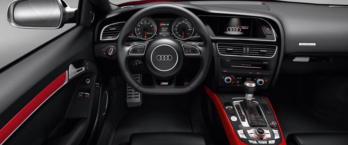 Audi RS5 INTERIOR-and-DESIGN