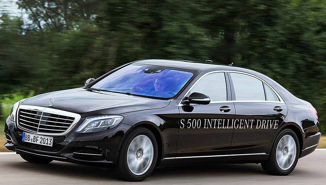 Mercedes Autonomous Driving-S500 Intelligent Drive