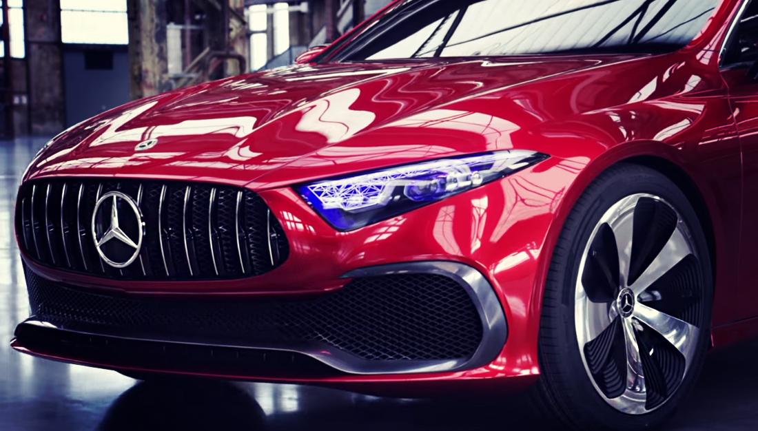 New Mercedes C Class 2018