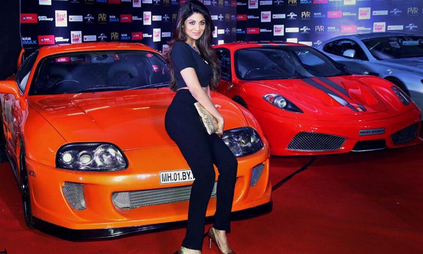 Shilpa-Shetty owns a Lamborghini