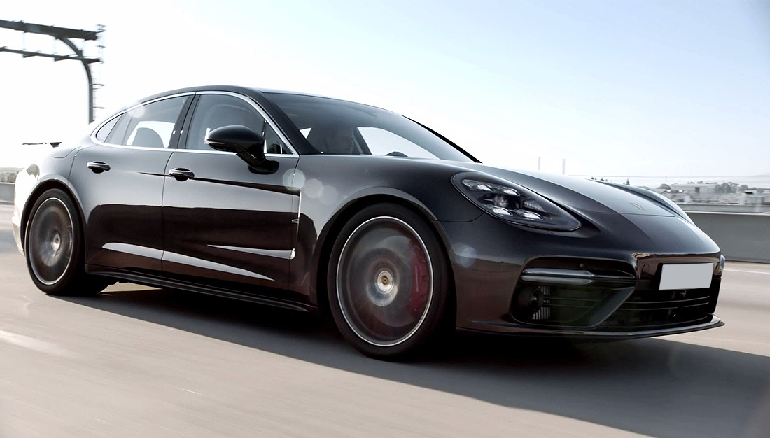 The New Panamera – Courage Changes Everything