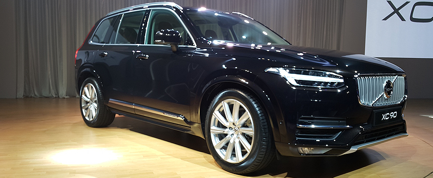 Volvo India Launches XC90 T8 Excellence Plug-In Hybrid at Rs. 1.25 Crore