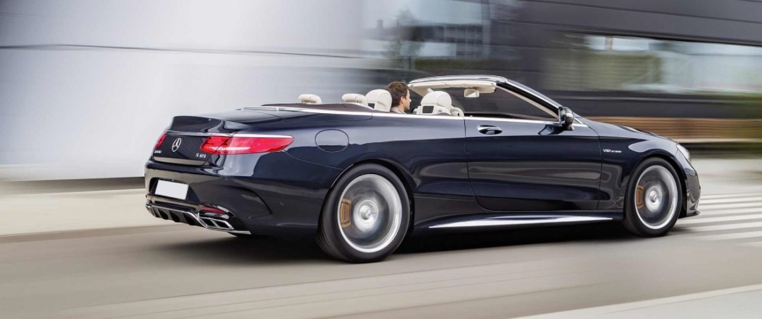 Mercedes-AMG S65 Cabriolet Unveiled Gets A V12 Mill