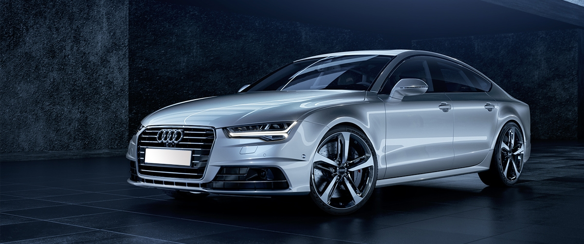 Audi A7 – The Luxury on the Platter