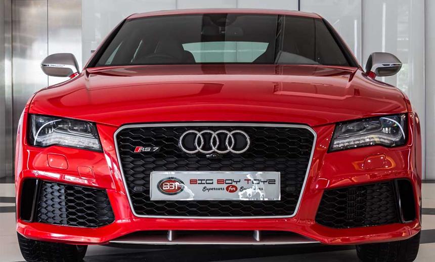 Audi RS7 Sportback: The meritorious peculiar