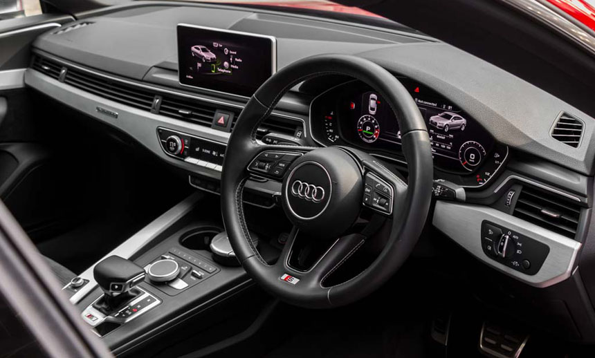 Audi's poised and luscious cabin