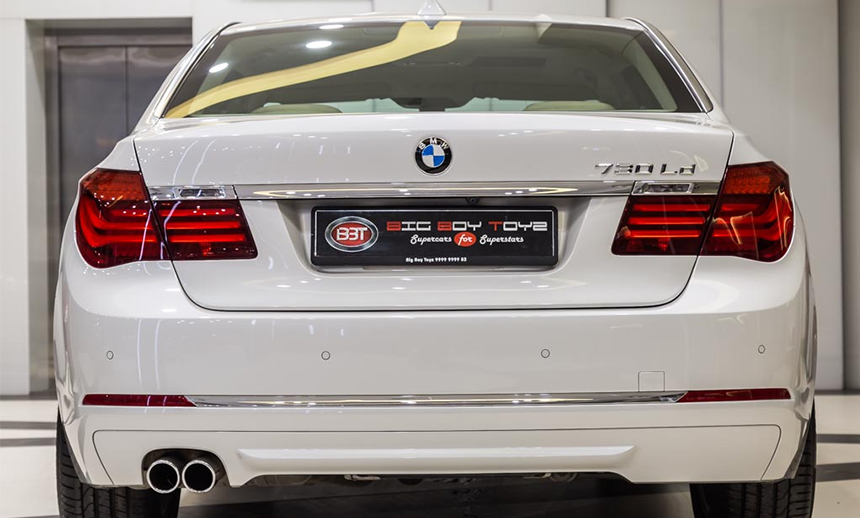 sunny-leone Sophisticated BMW 760Li