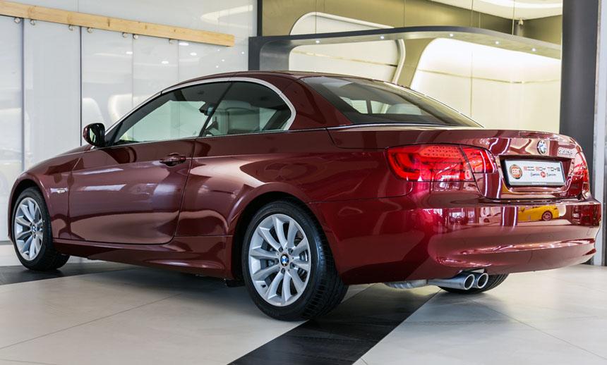 BMW 330d Convertible