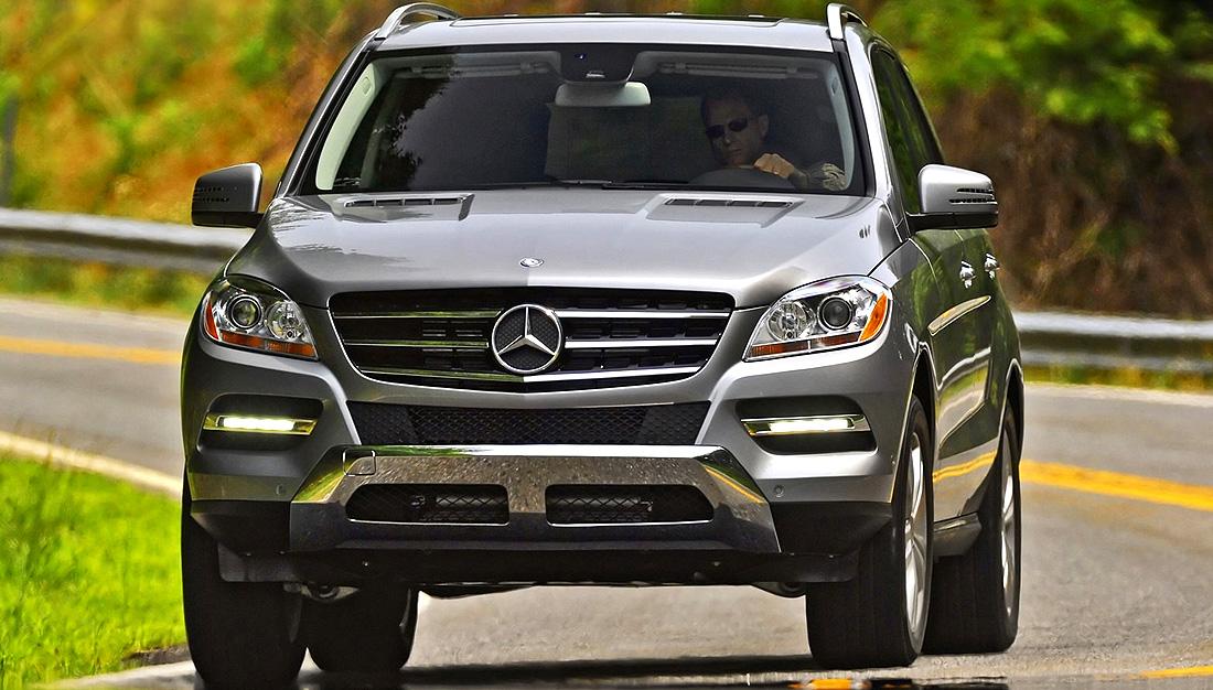 2012 Mercedes-Benz ML350 Safety Features