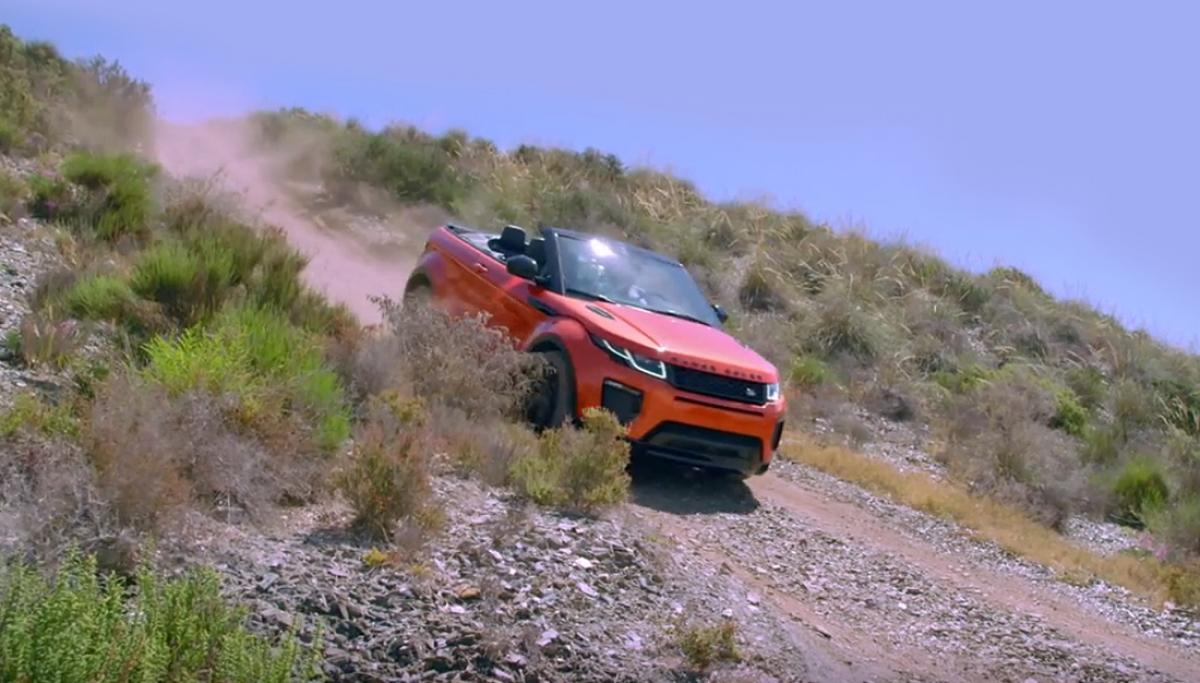 New Range Rover Evoque Convertible SUV
