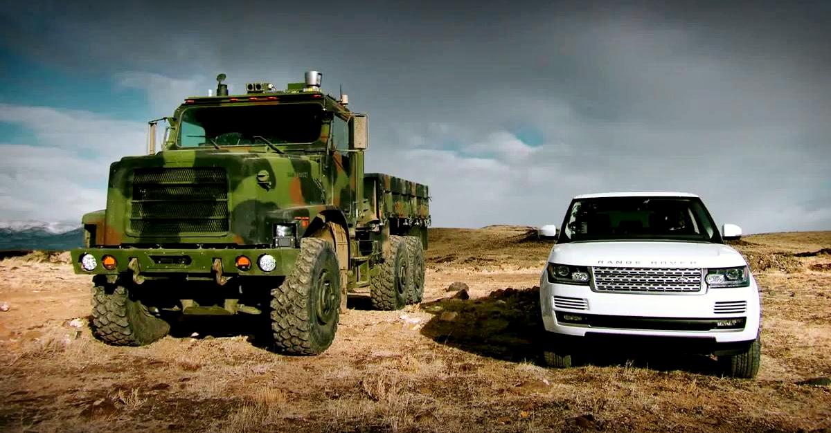 """Terminator"" Vs Range Rover - TerraMax"