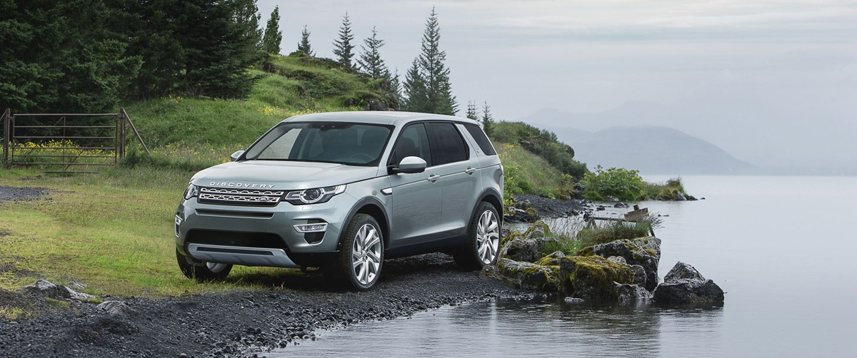 Live the Roads with the New Jaguar Land Rover Discovery!