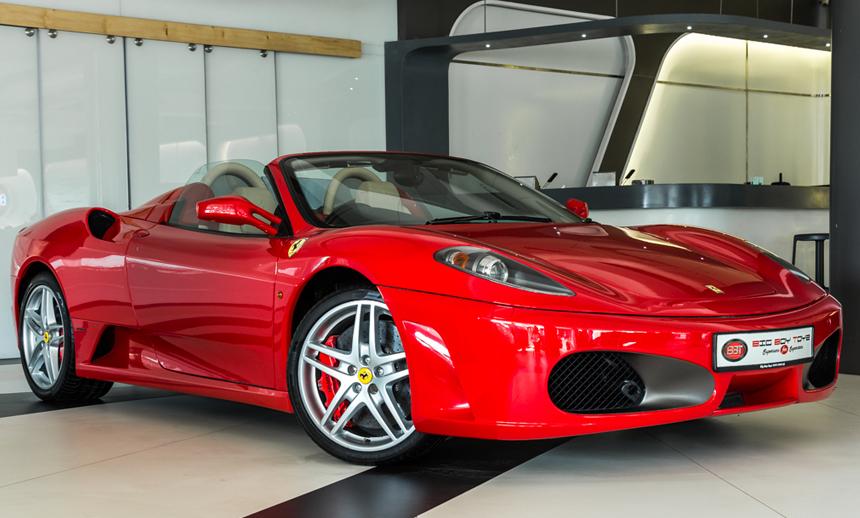 Ferrari F430 Spider: The clean cut charger