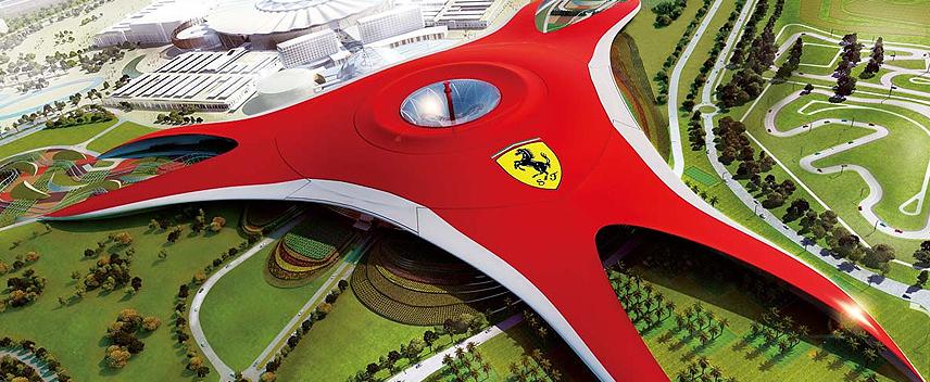 the first Ferrari theme park of the world.