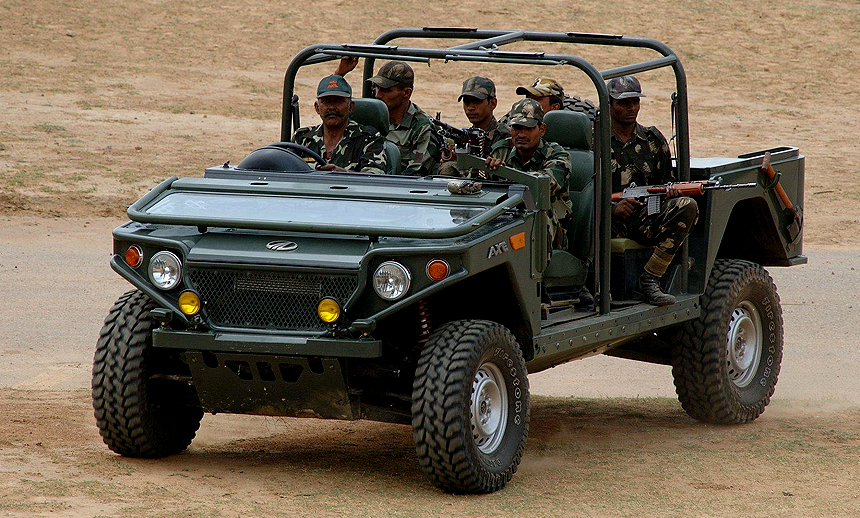 Indian Security Forces and the Luxury Car Brands They Must Own