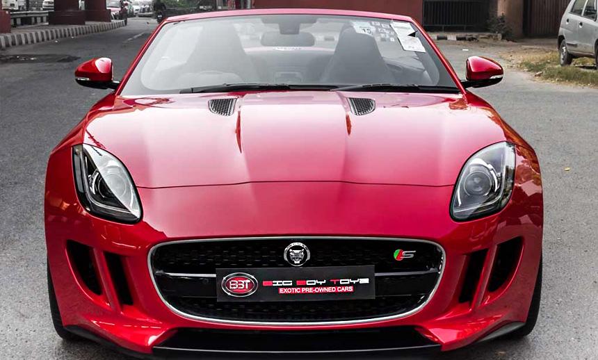 Jaguar F Type S Convertible: The Red Salsa