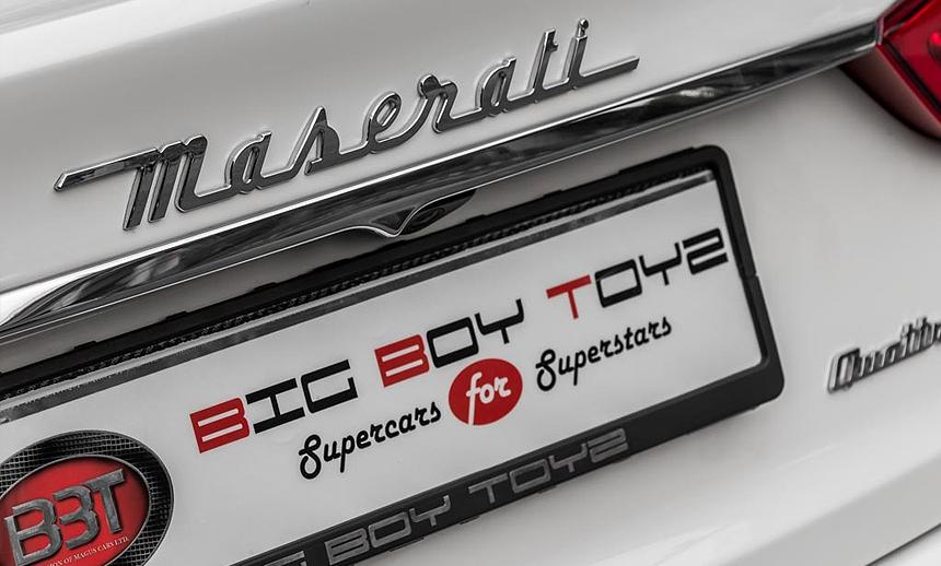 the Quattroporte at BBT