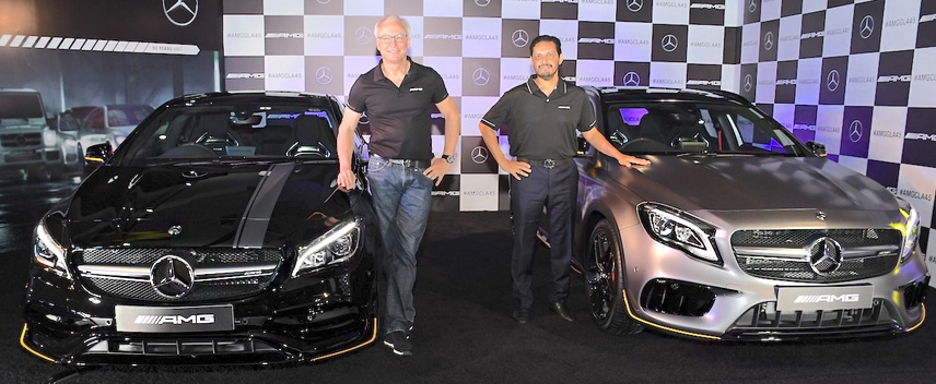 Mercedes-AMG GLA 45 And CLA 45 Debut in India