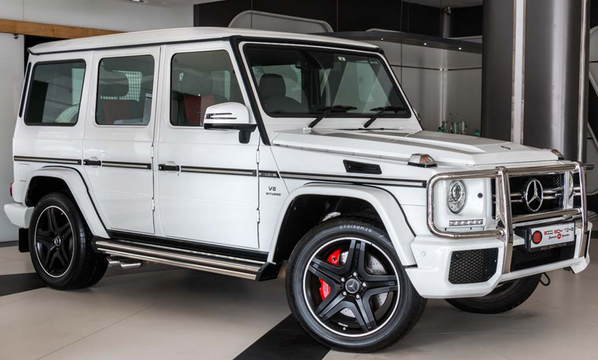 Mercedes G 63 AMG : Not the usual one