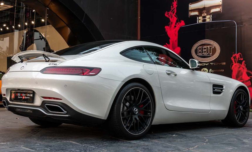 Mercedes AMG GTS : The hankered piece