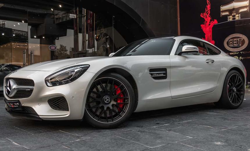 the AMG GTS