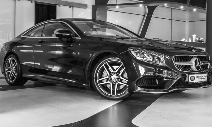 Mercedes S 500 Coupe : The apex charmer